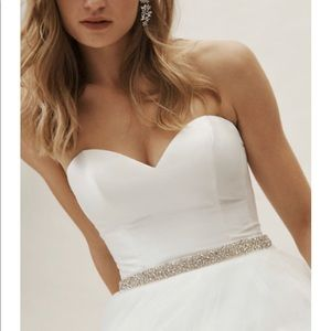 COPY - Colette bustier wedding top from BHLDN